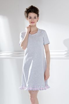 Košilka 387357 Shirt Dress, T Shirt, Casual, Model, Dresses, Fashion, Vestidos, Moda, Shirtdress