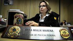 Transferida do Paraná para Santa Catarina, Érika Mialik Marena levou os métodos de Curitiba para o novo estado e o reitor foi preso sem nem ter sido antes convocado a prestar depoimentos.