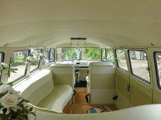 VW Wedding Camper Van Pearl