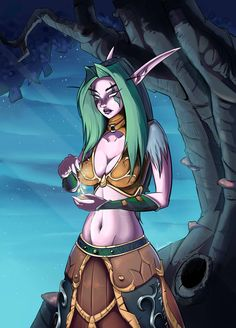 Mayaelle -  Night elf druid - World of Warcraft