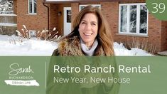 The Minister of Exteriors and I are revamping a retro ranch bungalow into a rental (that's a lot of R's)! Three baths, four bedrooms, a sweet view and a whol. Squeaky Floors, Interior Design Videos, Sarah Richardson, Home Desk, Home Technology, Cooking Gadgets, New Home Designs, Make It Work, Booth Design