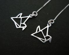Kolczyki Origami - MMProject - Kolczyki srebrne
