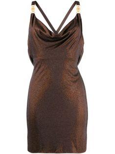 Designer Cocktail Dress, Cocktail Dresses, Vintage Versace, Versace Dress, Brown Dress, Evening Dresses, Short Dresses, Fashion Outfits, Kpop Fashion