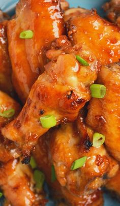 Sticky Asian Garlic Wings