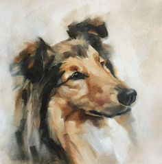 Dale oil on canvas by Julie Brunn
