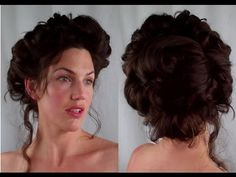 Victorian Hairstyles 121987 How to Gibson Girl Hair Edwardian Victorian Vintage Retro Hairstyle - Tutorials 1800s Hairstyles, Edwardian Hairstyles, Retro Hairstyles, Feathered Hairstyles, Pixie Hairstyles, Hairstyles With Bangs, Wedding Hairstyles, Style Hairstyle, Fringe Hairstyles
