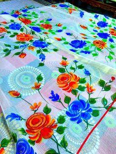 Handpaint dupatta.for detail watsaap on 8427072562