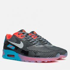 brand new 255ae 5e019 Кроссовки Nike Air Max 90 Jacquard Ice QS Dark Grey Black Blue Article   744553-001 Release  2015