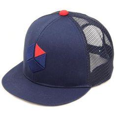 *BLUE LUG* WBC mesh cap (navy)