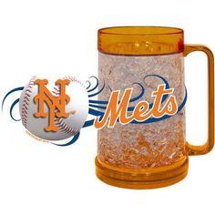 New York Mets Full Color Crystal Freezer Mug - Hunter