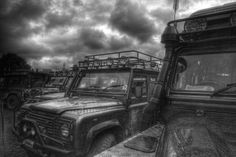 LandRovers....Invasion on HDR