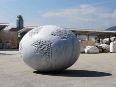 Swiss Artist Sibylle Pasche Creates Porous Sculptures Carved from Italian Marble