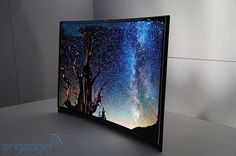 Samsung 'world's first' curved OLED