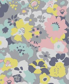 Aimee Wilder via print & pattern Textiles, Textile Prints, Textile Patterns, Textile Design, Print Patterns, Floral Prints, Pattern Designs, Floral Patterns, Wallpaper Backgrounds