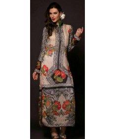 Stitched Pakistani Kurti - Cotton Silk
