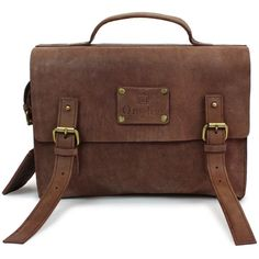 O My Bag Little Frankie Eco-Indian Brown (4.007.815 IDR) ❤ liked on Polyvore featuring bags, bolsas, purses and satchels