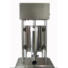 408.60$  Buy now - http://ali3yl.worldwells.pw/go.php?t=32687562560 - 1pc  15L Stainless steel electric sausage stuffer | sausage filling machine 408.60$