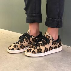 Leopard Stan Smiths