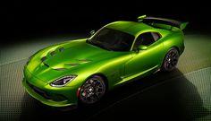SRT Viper nella tinta Stryker Green