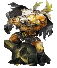 Dwarf - Pictures & Characters Art - Dragons Crown