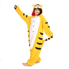 Fierce Tiger Kigurumi  by Japanese Gift Market
