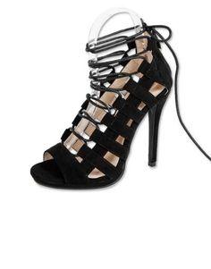 ΝΕΕΣ ΑΦΙΞΕΙΣ :: Ψηλοτάκουνα Πέδιλα Laces On The Road Black - OEM Sandals, Lace, Shoes, Fashion, Moda, Shoes Sandals, Zapatos, Shoes Outlet, Fashion Styles