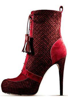 #John Galliano - Womens Shoes - 2012 Pre-Fall