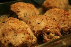 Με πέντε φιλέτα από στήθος κοτόπουλου, μπόλικη φέτα και σκόρδο αρκετό ετοίμασα το γεμιστό μου ψητό το περασμένο σαββατοκύριακο και, αφού πέτυχε, καταγράφεται στα πρακτικά.