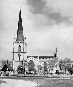 St Matthew, Walsall, Staffordshire, England. St Matthews Church, Saint Matthew, Walsall, West Midlands, My Town, Derbyshire, The Other Side, The Good Old Days, Ancestry
