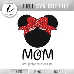 23 trendy Ideas for crochet patterns disney free minnie mouse Free Svg Cut Files, Svg Files For Cricut, Cricut Htv, Cricut Fonts, Cricut Tutorials, Cricut Ideas, Create Shirts, Disney Images, Disney Diy