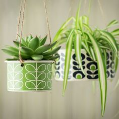 This vibrant range includes hanging plant pots, herb pots and fabric plant bags as well as enamel mugs and plates featuring the iconic designer's instantly recognisable retro floral motifs.