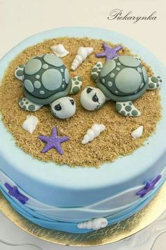 Fondant Turtles