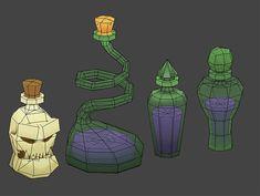Bildergebnis für stylised potion asset