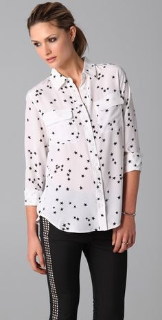 starry night blouse by Equipment