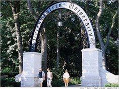 Entrance into Northwestern University