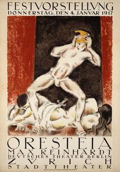 Buy online, view images and see past prices for POSTER: OTTO BAUMBERGER ORESTEIA. Invaluable is the world's largest marketplace for art, antiques, and collectibles. Historical Romance, Historical Fiction, Max Reinhardt, Tourist Office, Original Vintage, Old Paper, Custom Framing, Vintage Posters, Cotton Canvas