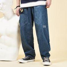 Men's Bottoms, Loose Jeans, Casual Jeans, Swimwear Fashion, Denim Pants, Shirt Blouses, Sweatpants, Fashion Outfits, Shorts