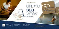 Vem aí o Algarve Spa Week! #salgadospalace #saorafaelatlantico The Algarve Spa Week is around the corner! #nauhotels