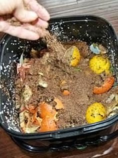 Bokashi composting is an anaerobic process that relies on inoculated bran to…