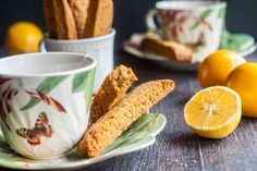 Paleo Meyer Lemon Ginger Biscotti - My Life Cookbook