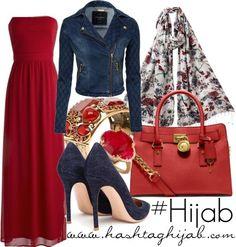 Hijab Fashion 2016/2017: Sélection de looks tendances spécial voilées Look Descreption Hijab Outfit
