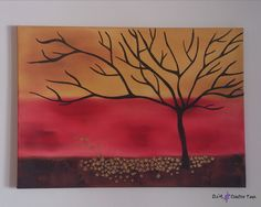 Items similar to TREE OIL PAINTING golden leaves fall modern warm colours nature on canvas impasto fine art on Etsy Golden Leaves, Autumn Leaves, Warm Colors, Colours, Tree Oil, Paint Party, Oil Painting On Canvas, Diy Crafts, Fine Art