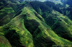 Ethiopia, the sheer cliffs of the Simien Mountains