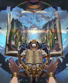 Card: Prophecy of Boons Anime Art Fantasy, Fantasy Rpg, Dark Fantasy Art, Fantasy Books, Fantasy Characters, Anime Weapons, Fantasy Weapons, Fantasy Art Landscapes, Dungeons And Dragons Homebrew