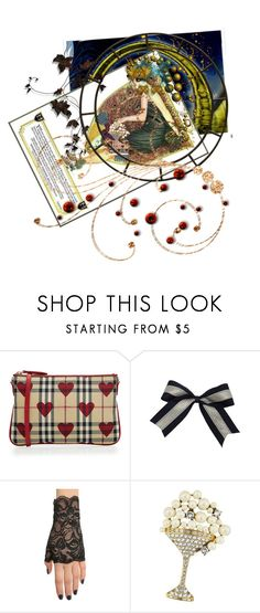 """""""Pearls of wisdom......"""" by diannecollier ❤ liked on Polyvore featuring Burberry, Marc Jacobs and polyvoreeditorial"""