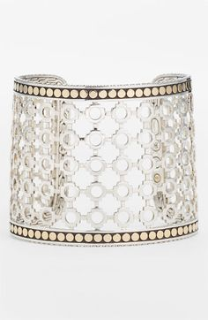 c7eab10d127 John Hardy 'Dot' Wide Cuff available at #Nordstrom Sterling Silver Rings,  Lighting