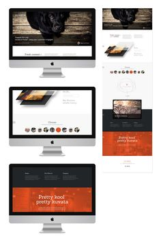 Web design - long scroll  - Kuvata_full