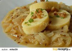 Cibulové zelí recept - TopRecepty.cz Czech Recipes, Ethnic Recipes, Risotto, Potato Salad, Mashed Potatoes, Fruit, Czech Food, The Fruit, Shredded Potatoes