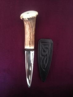 Custom made traditional Scottish Sgian Dubh by BespokeSgianDubhs, £90.00