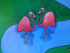 Dyr flamingoer